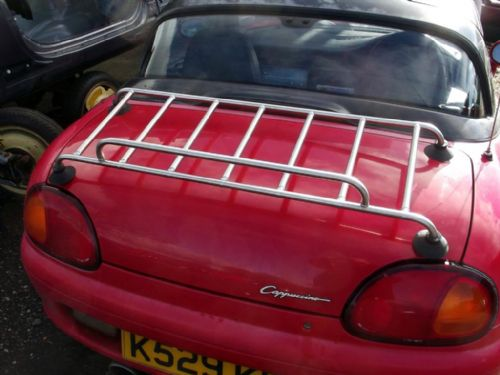 Boot / luggage rack, Suzuki Cappuccino, s/s low profile, narrow fit, with fitting kit